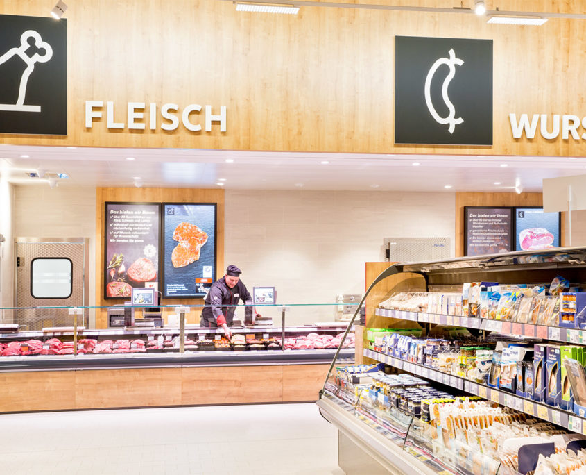 Kaufland easescreen Digital Signage