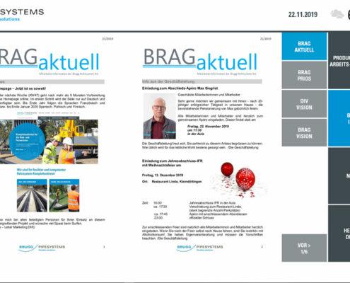 Brugg, Mitarbeiter-Info-System