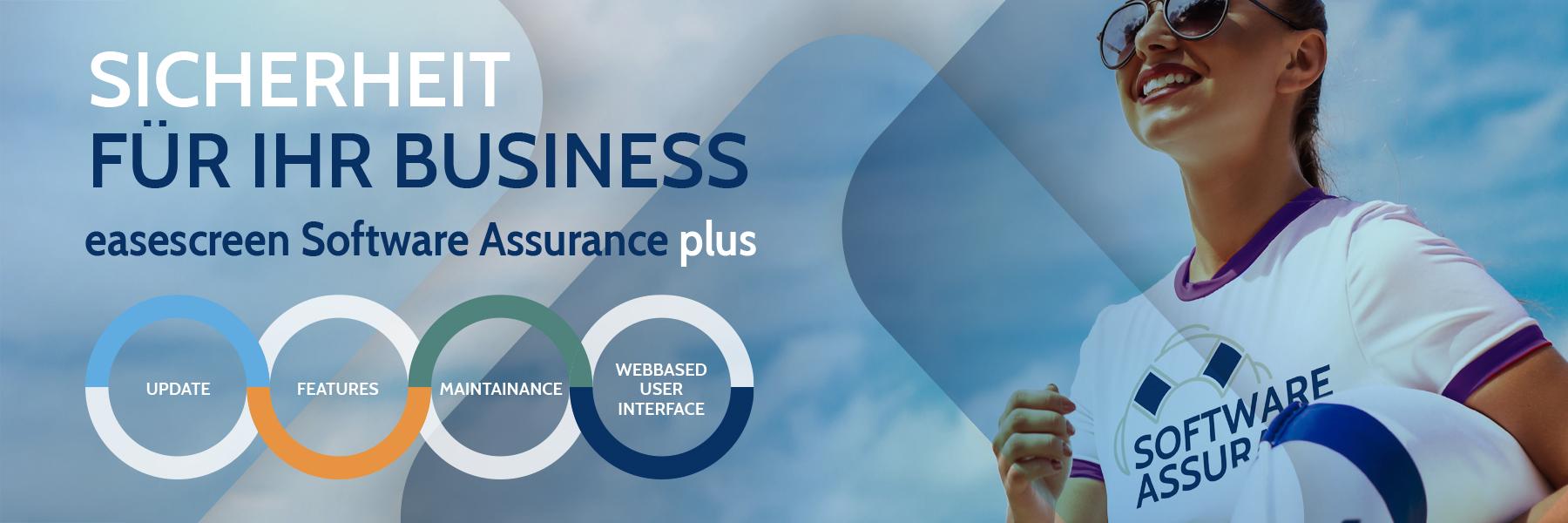SAplus easescreen - Die neue Software Assurance